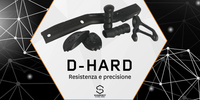 dhard resina resistente sharebot monza