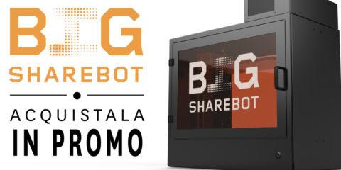 promozione lancio sharebot big